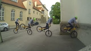 "Lukas Spindler ""A Day with my Gopro"" Street trial 2014 Inspired Bicycles"