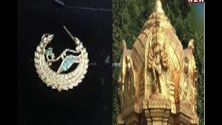 CM KCR To Visit  Vijayawada Today | To Present Gold Nose Stud | To Goddess Kanaka Durga
