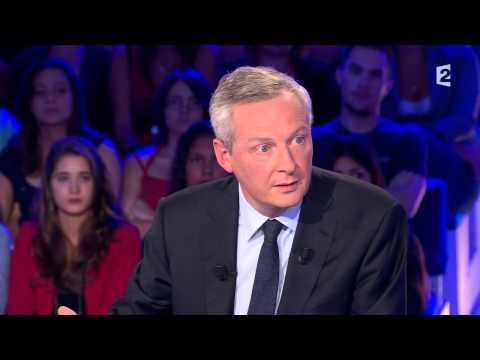 Bruno Le Maire - On nest pas couché 13 septembre 2014 #ONPC