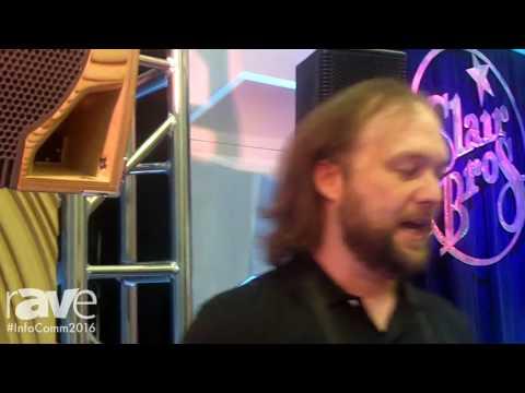 InfoComm 2016: Clair Brothers Highlights kiTCURVE12 Speaker