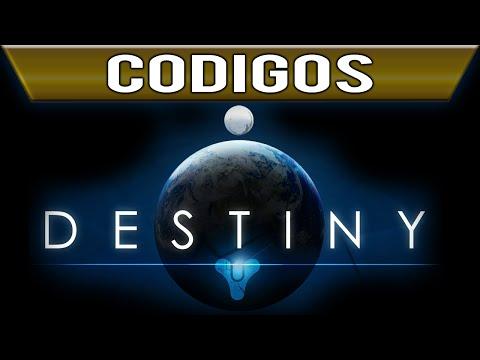 Destiny Todos los Codigos de Desbloqueables Armas Emblemas Armaduras Shaders etc
