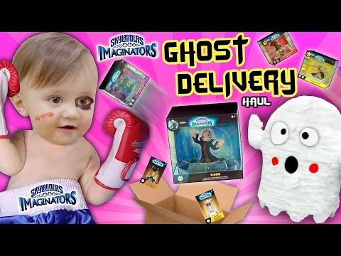 SHAWN BEATS UP GHOSTS!! 👻 SKYLANDERS IMAGINATORS Wave 1 & 2 SPECIAL DELIVERY (Unboxing Surprise)