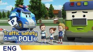 Trafficsafety with Poli | #05.Look out for blind spots!