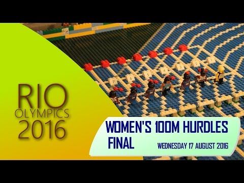 LEGO Women's 100m Hurdles at Rio Olympics 2016