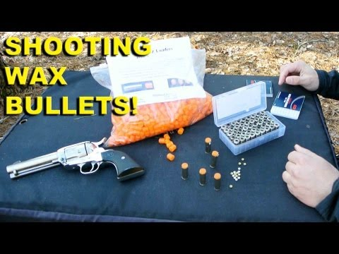 Shooting Wax Bullets! DIY Ammo for Cheap Training and Fun