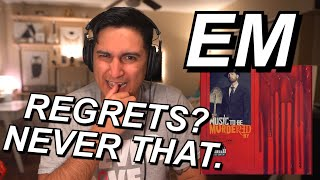 EMINEM - NO REGRETS REACTION!! | BOY SAID NICKED EM LOL