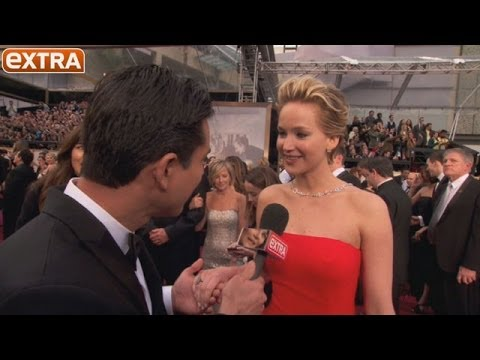 Oscars 2014: Jennifer Lawrence on the Red Carpet