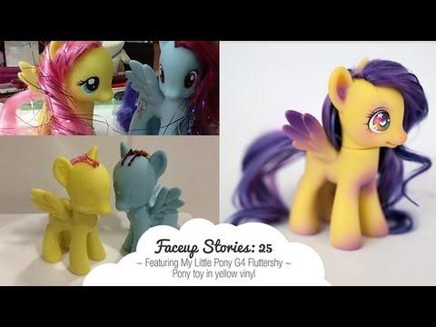 Как сделать ооак пони