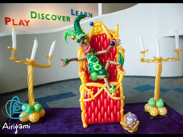 Balloons Around the World 2014 with Airigami
