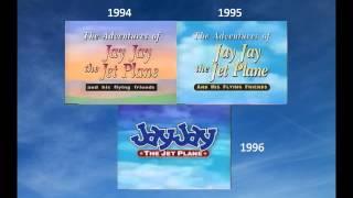 Jay Jay the Jet Plane (Model Series) - 1994-1996 Intro Comparison