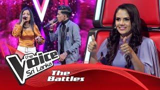 The Battles : Ravindu Lakshan V Kethaki Suraweera   Mage Namali The Voice Sri Lanka