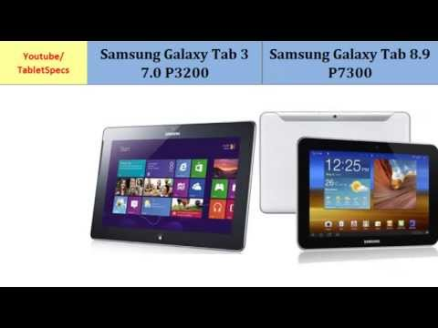 Samsung Galaxy Tab 3 7.0 Versus Samsung Galaxy Tab 8.9 P7300, Which one to buy