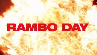 "Rambo: Last Blood (2019 Movie) ""Rambo Day"" – Sylvester Stallone"
