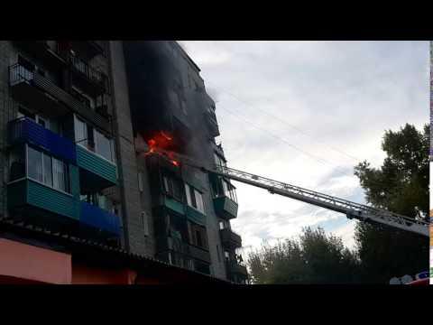 пожары в комсомольске на амуре видео