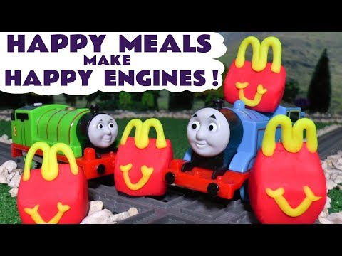 Thomas and Friends McDonald's Happy Meal Play Doh Surprise Toys for kids with Paw Patrol  TT4U
