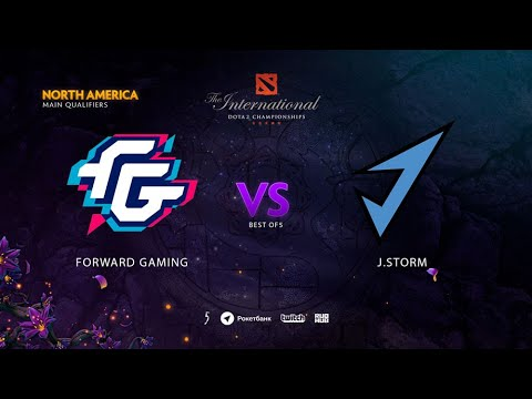 Forward Gaming vs J.Storm, TI9 Qualifiers NA, bo5, game 2 [Maelstorm & Mortalles]