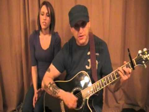 Holes In The Floor Of Heaven - Steve Wariner (cover).wmv
