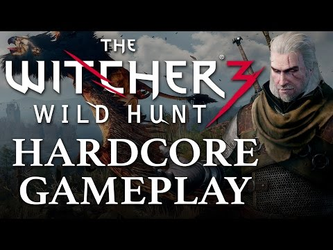 New Witcher 3 Gameplay Keeps it Hardcore