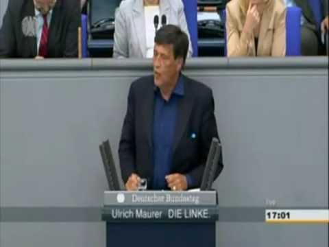Ulrich Maurer (Linke) zu Occupy, Blockupy, Banken, Fuball, Gewalt, Ghandi