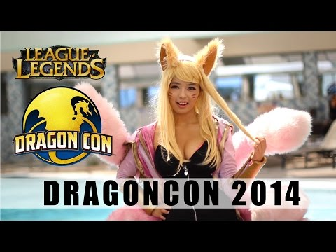 EPIC LEAGUE OF LEGENDS COSPLAYS OF DRAGONCON 2014 - COSPLAY MUSIC VIDEO