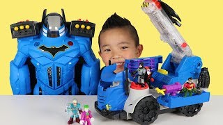Batman Toys RC Mobile Command Center Unboxing Fun With Ckn Toys