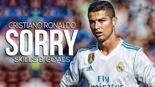 Cristiano Ronaldo   Sorry ft Justin Beiber  Skills