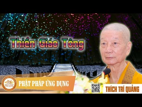 Thiền Giáo Tông