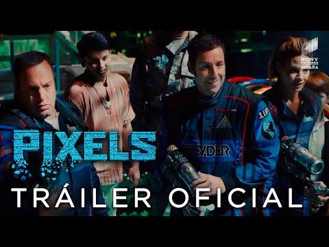 Cine-PIXELS. Tráiler Final Oficial HD en español. En cines 24 de julio.