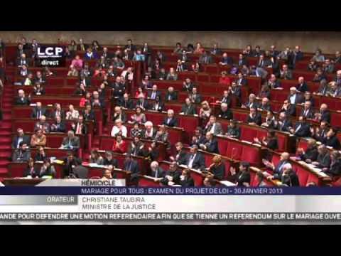 Christiane Taubira clashe Laurent Wauquiez à l'Assemblée nationale