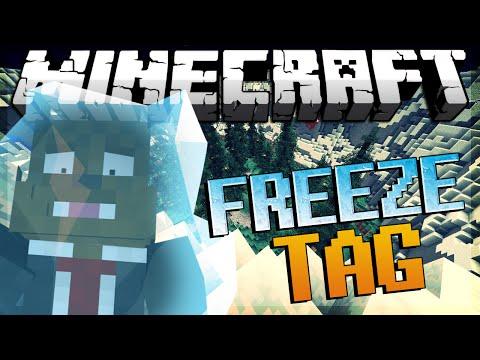 Minecraft FREEZE TAG Minigame w/ JeromeASF & HuskyMudkipz!