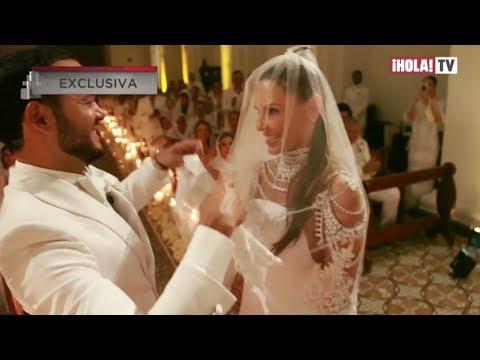 Video exclusivo de la boda de Paula Andrea Betancur y Luis Miguel Zabaleta | La Hora ¡HOLA!