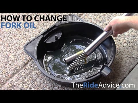 How to Change Your Fork Oil - Fork Oil Change for Right Side Up Damping Rod Forks