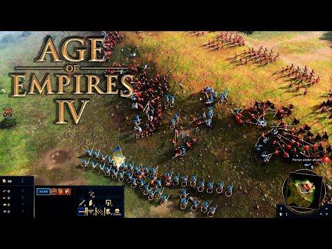 AGE OF EMPIRES IV - PRIMERAS IMPRESIONES del NUEVO Gameplay y Anuncio