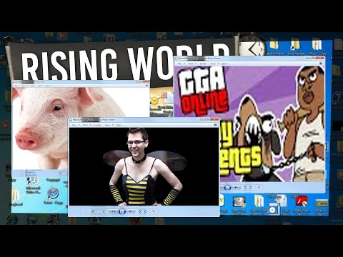 Rising World #6 - DUNCAN'S DESKTOP
