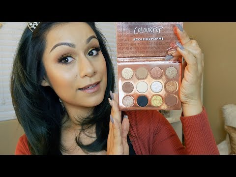 COLOURPOP/I THINK I LOVE YOU PALETTE!/ Review and Tutorial
