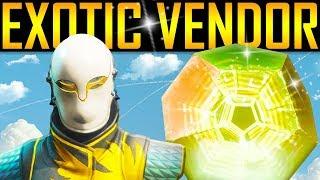 Destiny 2 - NEW EXOTIC VENDOR! Baron Loot! Secret Emblem!