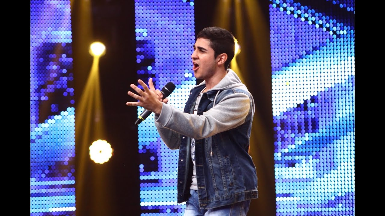 "Ed Sheeran - ""Thinking out loud"". Vezi interpretarea Dumitru Charbel, la X Factor!"