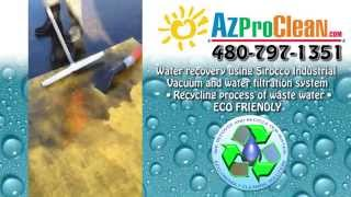 Wash Water Recycling by AZ Pro Clean - Pressure Washers