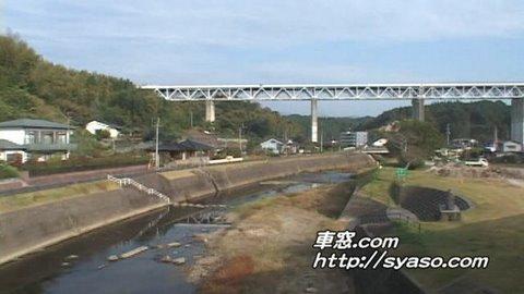3)【車窓】特急「はやとの風」3号 大隅横川~霧島温泉