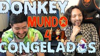 Retro Gaming Donkey Kong Country Mundo 4 Y ahora congelados?