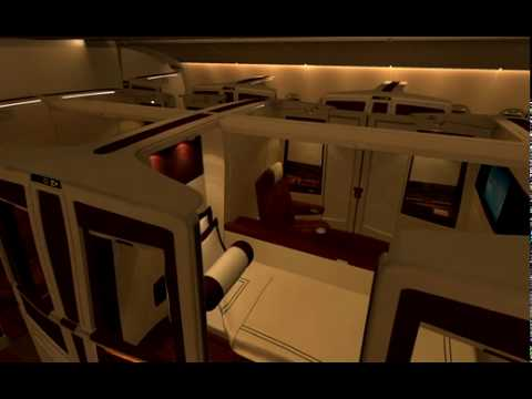 Singapore Airlines A380 Cabin Interior - Suites