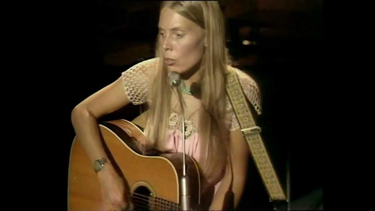 Young Joni Mitchell Joni Mitchell in Concert Bbc