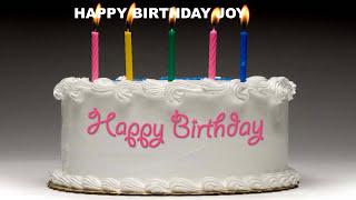 Joy - Cakes Pasteles_601 - Happy Birthday