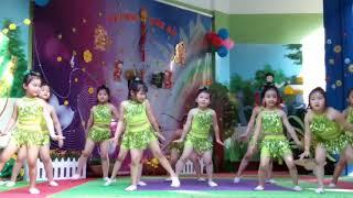 Nhảy Sampa sôi động | Văn Nghệ Thiếu Nhi trường mầm non 10 3