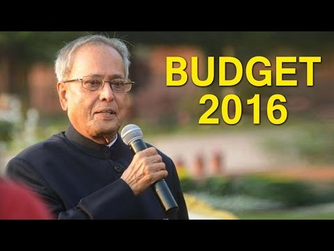 President Pranab Mukherjee At The Budget Session