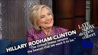Hillary Clinton: Nobody's Talking About Contesting The Election by : The Late Show with Stephen Colbert