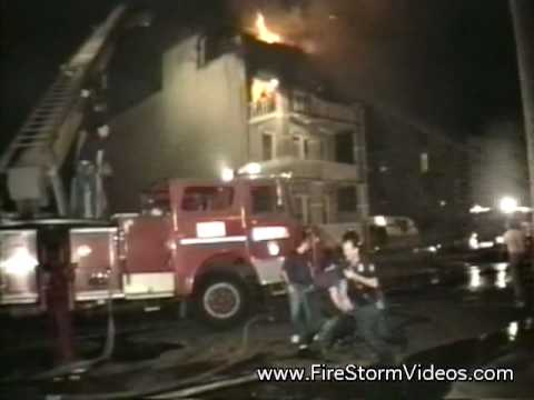 FDNY Rescue 3 vintage footage July 4th, 1991 Video