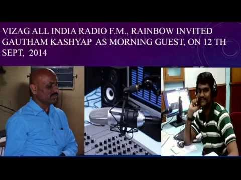 Film Writer, Dr Gautham Kashyap, Interview on The Science Behind Super Hit Films - Radio FM Rainbow