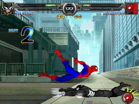 Wolvenom(me) VS Spiderman