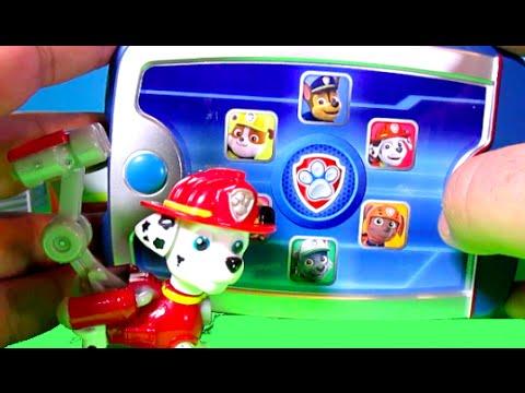 PAW PATROL Ryder's Paw Patrol Pup Pad + Paw Patrol Look Out Tower Paw Patrol Toy Video